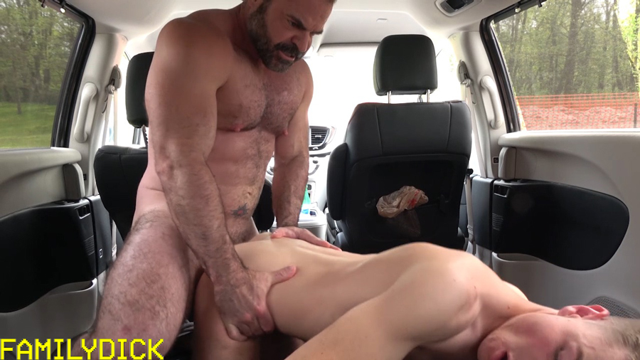 And compare size son dad cock
